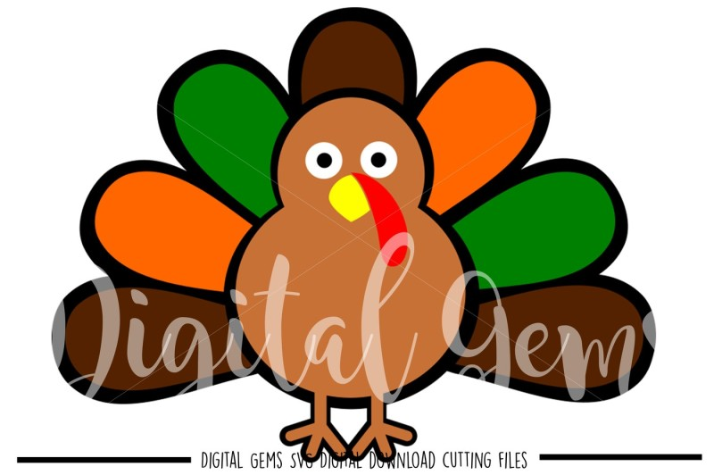 Free Turkey Svg Dxf Eps Png Files Crafter File Best Free Svg Cut Files