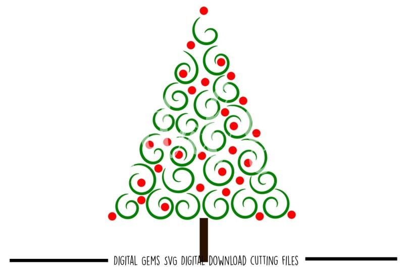 Free Christmas Tree SVG / DXF / PNG / EPS Files Crafter File