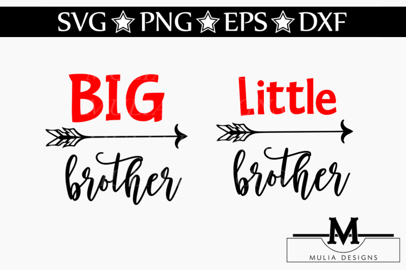Download Free Big And Little Brother SVG Crafter File - Best Free ...