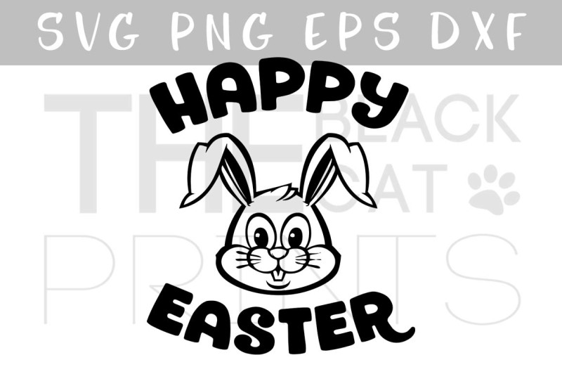 Free Easter Svg Happy Easter Bunny Svg Dxf Eps Png Crafter File Free Funny Svg Files For Personal Use