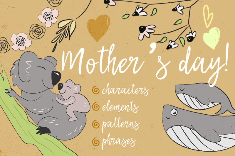 Collection To Mother S Day By Vladson S Illustration