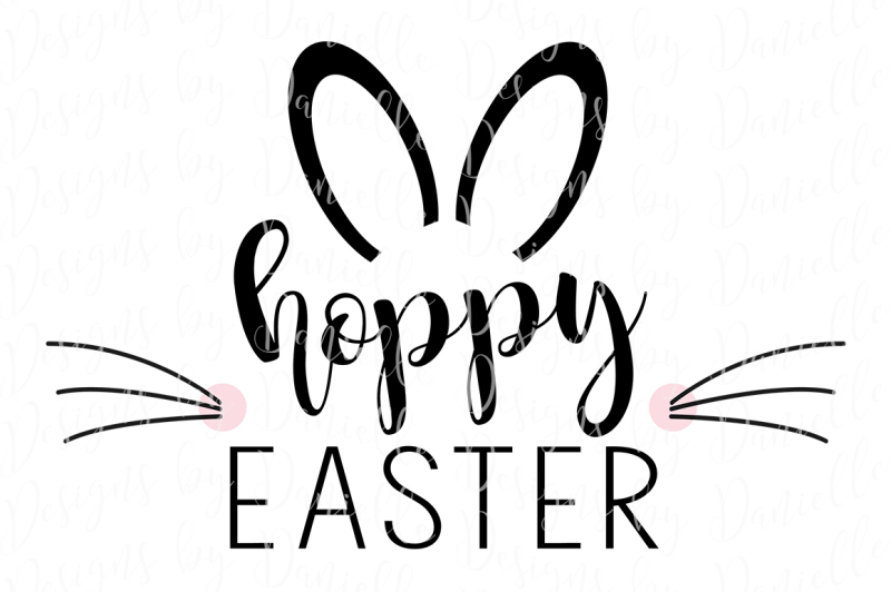 c40e15a83a6d5 Free Hoppy Easter - SVG Cutting File Crafter File - Free SVG Cut Files