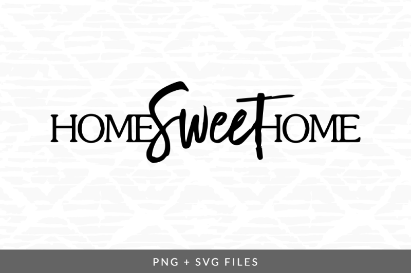 Download Home Sweet Home – Svg Image