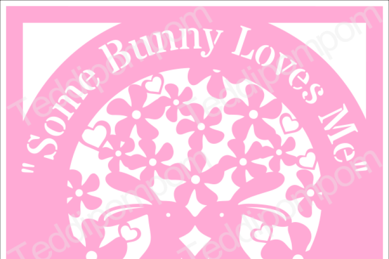 Bunny Svg Rabbit Svg Cutting File Some Bunny Loves Me Svg Easter Spring Papercutting Wedding Cricut Silhouette Cameo Cut File Scrapbooking Card Making Digital Upload By Sandie Carson Teddipompom Thehungryjpeg Com