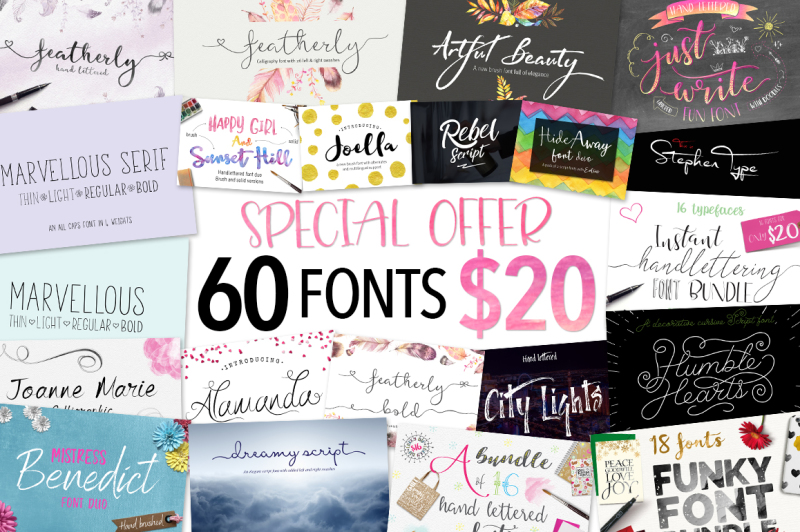 Fonts On All Category Thehungryjpeg Com