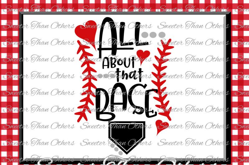 Baseball Svg Love Softball Htv Tshirt Design Vinyl Svg