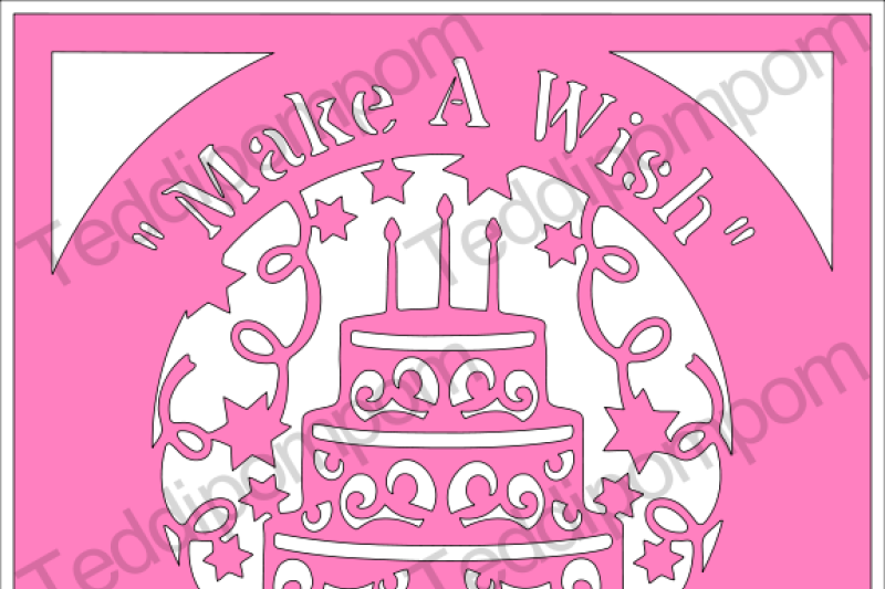 Free Make A Wish Birthday Cake Svg File Crafter File Svg Free Best