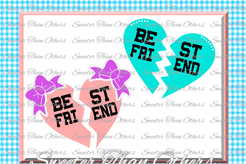 Best Friend Svg, Girl SVG, Baby Cutting File Dxf