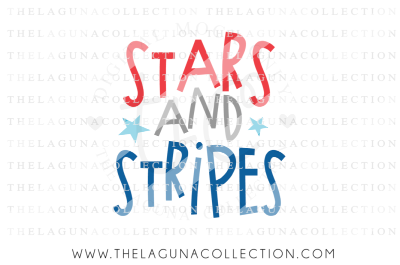 Stars And Strips Svg File 4th Of July Svg By The Laguna