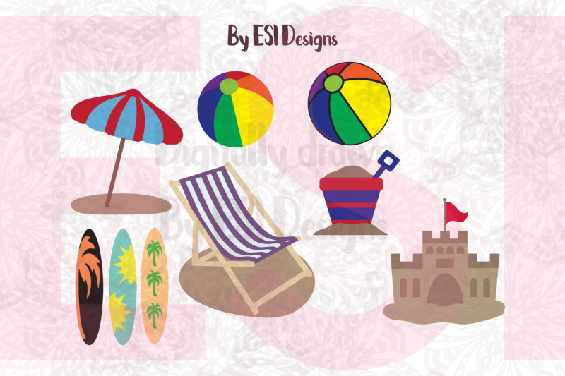 Free Beach Mini Bundle Svg Dxf Eps Png Cutting Files And Clipart Crafter File The Best Free Svg Files For Cricut Silhouette Free Cricut Images