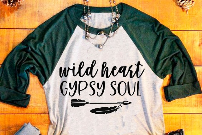 Free Wild Heart Gypsy Soul Svg Dxf Eps Png Cut File Cricut Silhouette Crafter File Best Free Svg Files Downloads Free Vector Download For Commercial Use