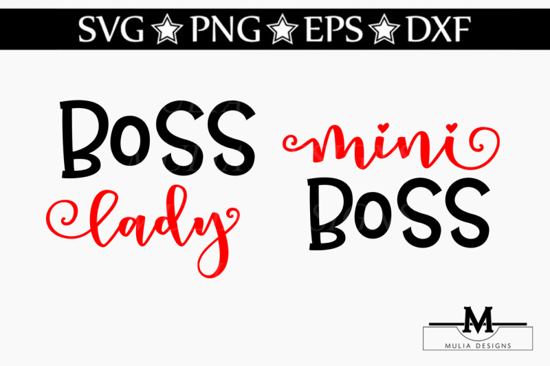 Free Mini And Boss Lady Svg Crafter File Download Free Svg