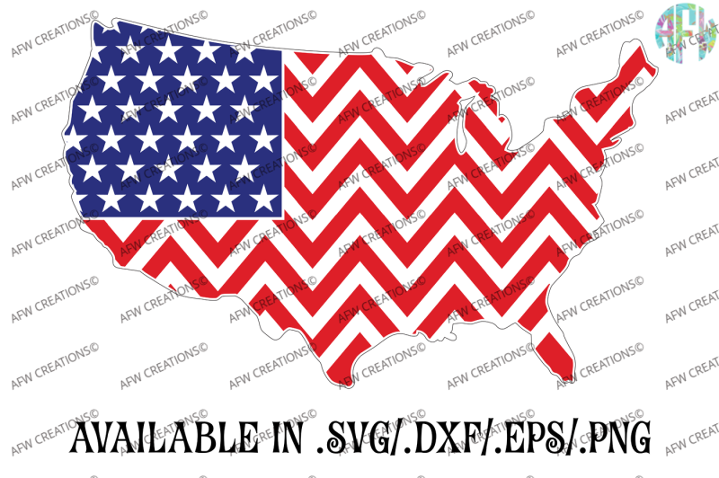 Free USA American Flag SVG DXF EPS Cut Files SVG - Free
