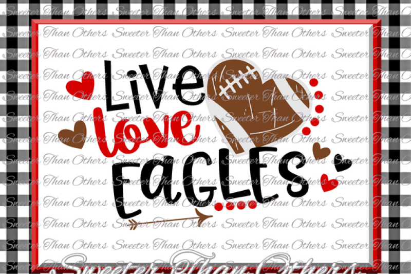 Free Football Svg Live Love Eagles Football Svg Distressed Football Pattern Vinyl Design Svg Dxf Silhouette Cameo Cricut Instant Download Svg Free Download Svg Files Laundry Room