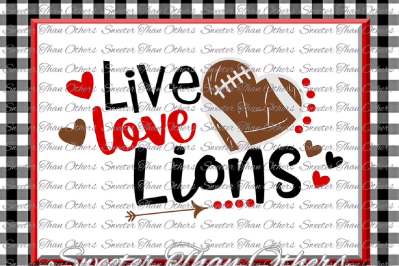 Free Football Svg Live Love Lions Football Svg Distressed Football Pattern Vinyl Design Svg Dxf Silhouette Cameo Cricut Instant Download Svg Free Svg Files Available In Multiple Formats