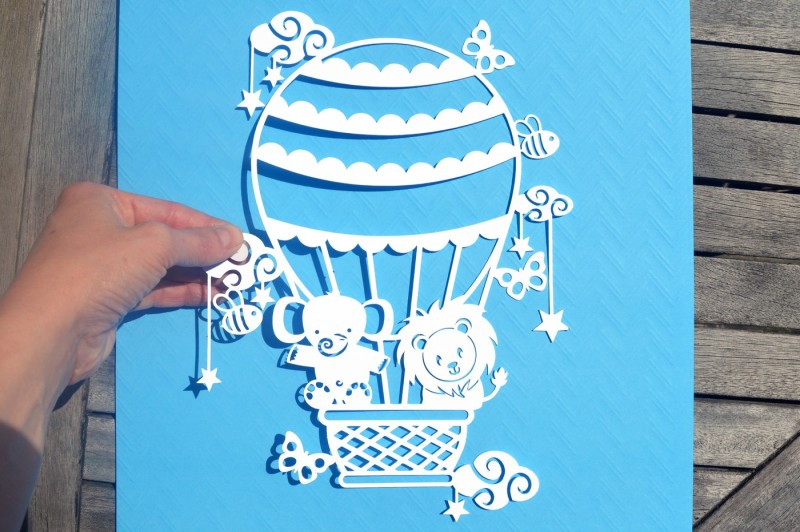 Download Free Hot Air Balloon Svg  Dxf  Eps Files Crafter File