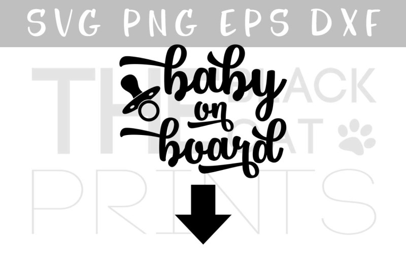 Download Free Baby On Board Svg Png Eps Dxf Crafter File