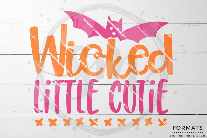 Free Wicked Little Cutie Svg Crafter File Free Svg Files For Silhouette Cameo And Cricut