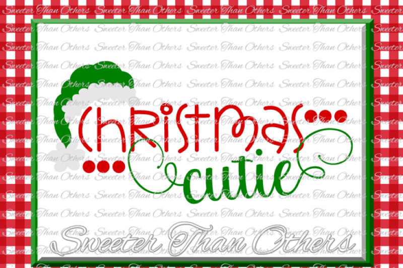 Download Christmas Cutie / Svg Png Dxf Design
