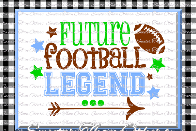 Free Football Svg Future Football Legend Svg Boy Baby Onesie Cut File Boy Svg Baby Cutting File Dxf Silhouette Cricut Instant Download Crafter File