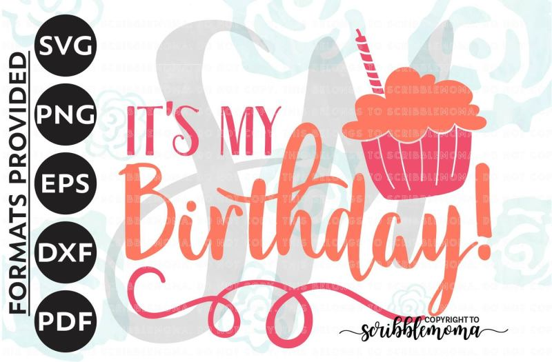 Download Free Birthday Girl svg, It's My Birthday svg, Birthday SVG ...