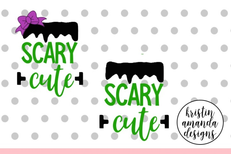 Download Free Scary Cute Svg Dxf Eps Png Cut File Cricut Silhouette Crafter File