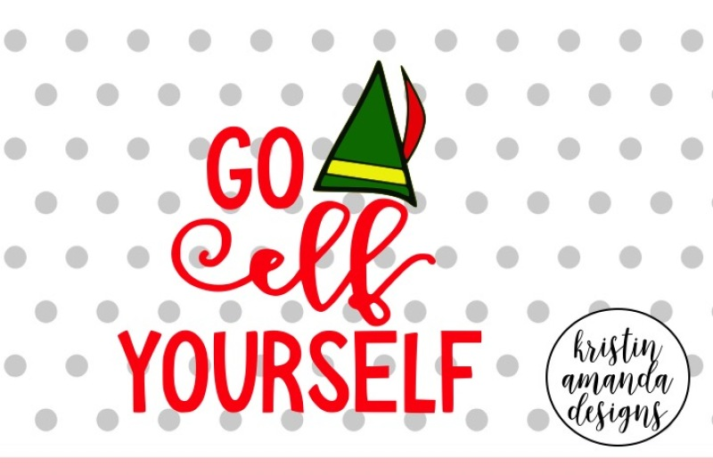 Free Go Elf Yourself Christmas SVG DXF EPS PNG Cut File