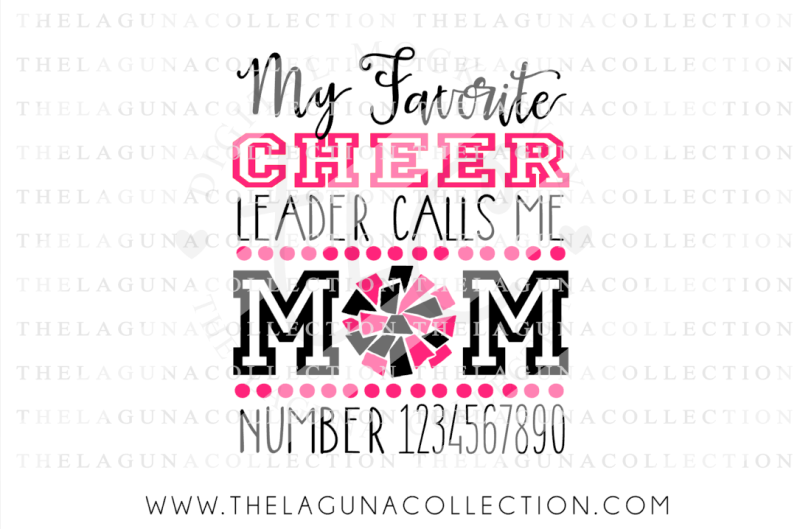 Free My Favorite Cheerleader Calls Me Mom Cheer Mom Svg Cheerleading Svg Sport Svg Crafter File Free Svg Cutting Files