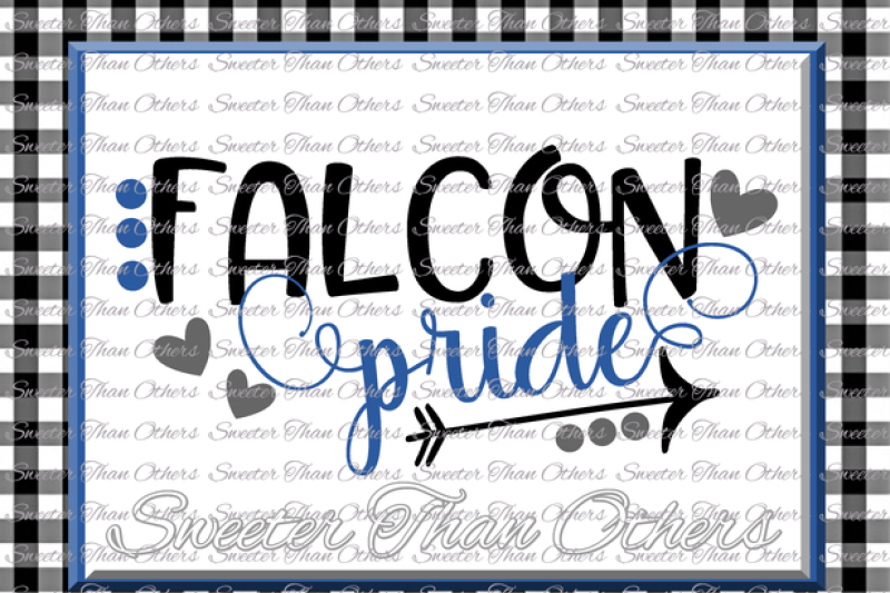 Falcon Pride Svg Football Falcon Baseball Falcon Basketball