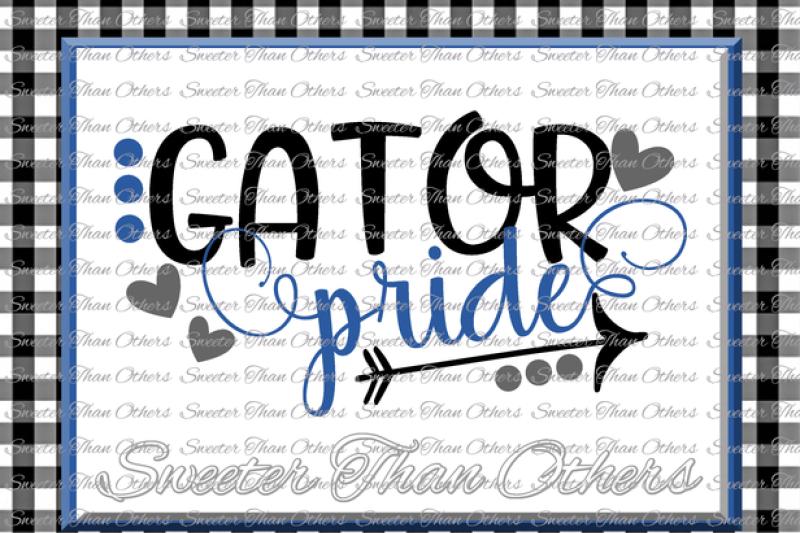 Gator Pride Svg Football Gator Baseball Gator Basketball Gator