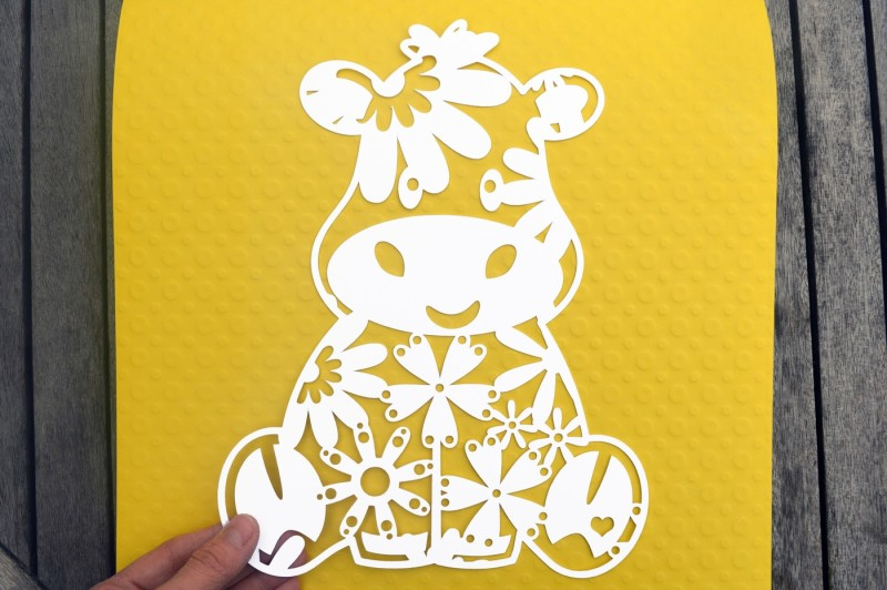 Free Cow Paper Cut Svg Eps Dxf Files Crafter File Free Download 43444554 Svg Image File
