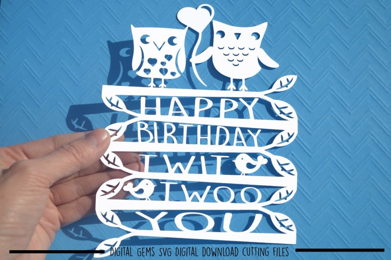 Free Happy Birthday Paper Cut Svg Dxf Eps Files Crafter File Free Download Svg Cut Files