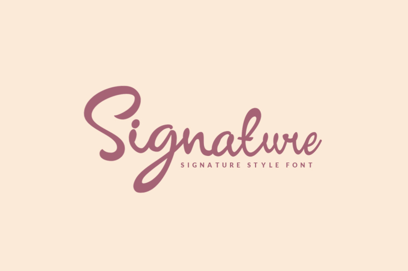 Signature Script By Showup Typefoundry Thehungryjpeg Com