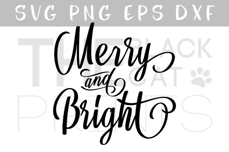 Free Merry Bright Svg Christmas Svg Dxf Png Eps Crafter File Download Free Disney Castle Svg Files For Cricut