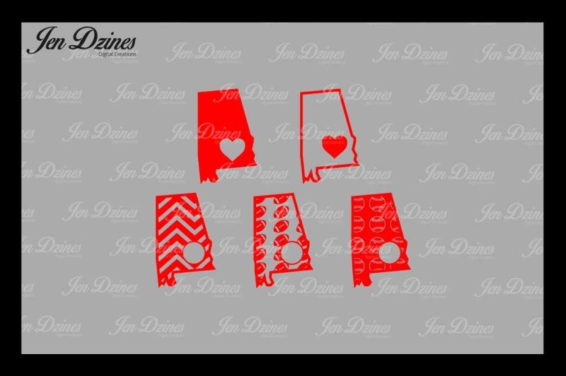 Download Free Alabama Outline Football Baseball Chevron Heart Svg Dxf Eps Png Crafter File