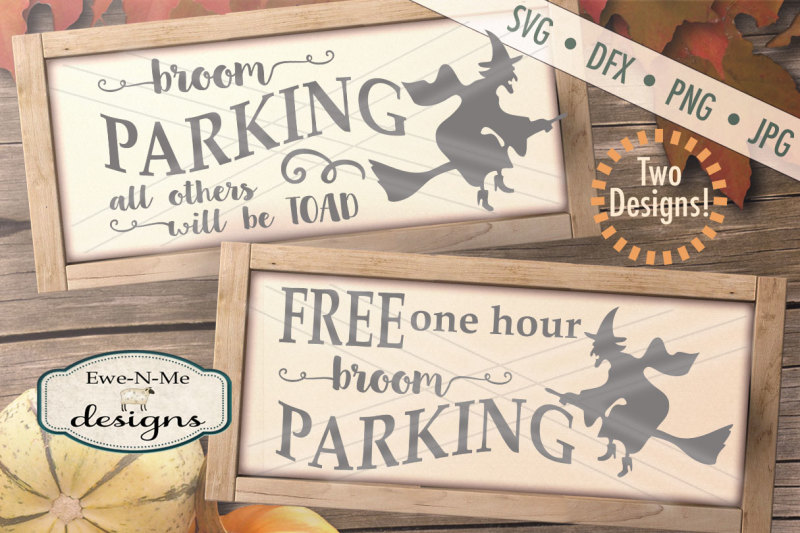 Free Halloween Witch Broom Parking Svg Bundle Crafter File Best Svg Cut Files To Use With The Silhouette Cameo Or Cricut