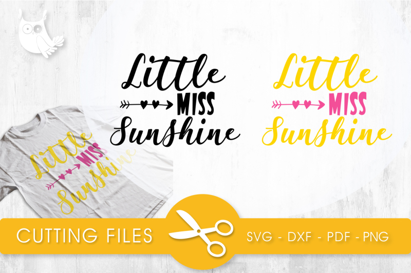 Little Miss Sunshine Svg Png Eps Dxf Cut File Design Best Free Svg Cut Files