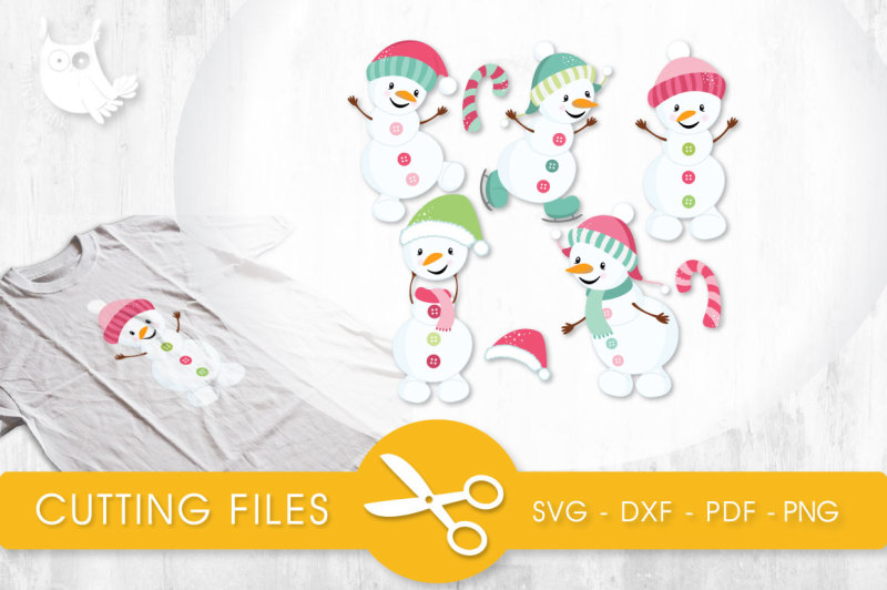 Snow Cute Snowmen Svg Png Eps Dxf Cut File Scalable Vector Graphics Design Svg Files Quotes For Machine