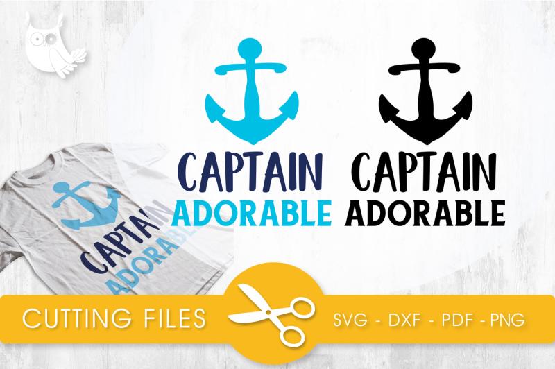 Free Captain Adorable Svg Png Eps Dxf Cut File Crafter File Free Svg Fireworks Monogram Font