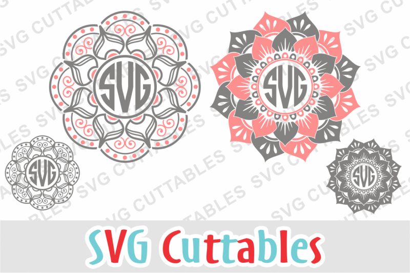 Download Free Mandala Monogram Frames Crafter File - Free SVG Files ...