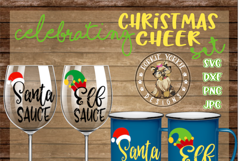 Free Christmas Cheer Bundle Svg Dxf Png Jpg Crafter File Best Free Svg Cut Files