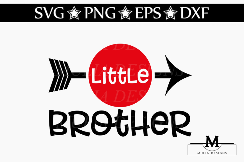 Download Free Little Brother Svg Crafter File