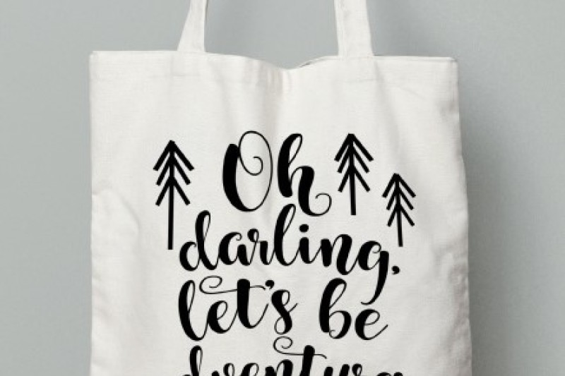 Download Free Oh Darling Let'S Be Adventurers Svg Crafter File