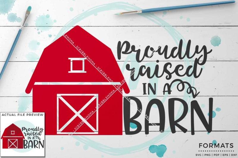 raised in a barn svg small commercial use svg \u0026 instant downloadraised in a barn svg small commercial use svg \u0026 instant download