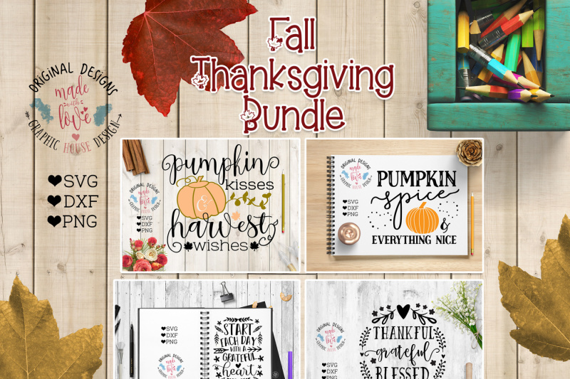 Free Fall Thanksgiving Cut Files Bundle Crafter File Best Free Svg Cut Files
