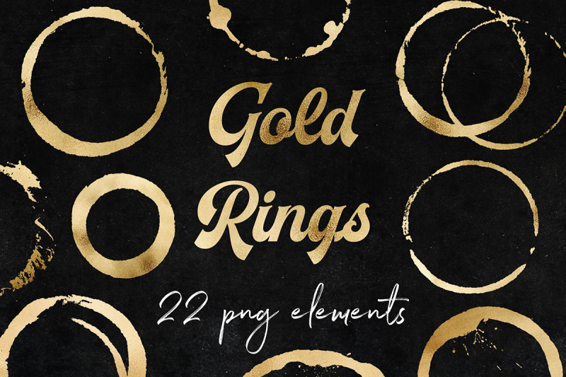 Download Free Gold Rings Clipart Crafter File
