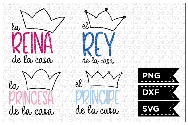 Free Los Reyes De La Casa Svg New Free Svg Quotes Cut Files