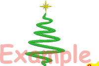 Christmas Tree Embroidery Design Machine Instant Download Commercial Use Digital File 4x4 5x7 Hoop Icon Symbol Sign Santa Tree Mini Xmas Winter Holiday New Year 124b By Hamhamart Thehungryjpeg Com
