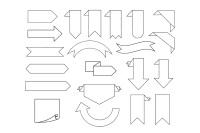 Banner Svg Bookmark Ribbon Svg Files For Silhouette Cameo And