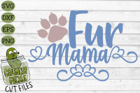 Fur Mama Cat Svg By Crunchy Pickle Thehungryjpeg Com